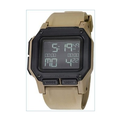 NIXON Regulus A1180 - All Sand - 100m Water Resistant Men's Digital Sport Watch (46mm Watch Face, 29mm-24mm Pu/Rubber/Silicone Band)並行輸入品