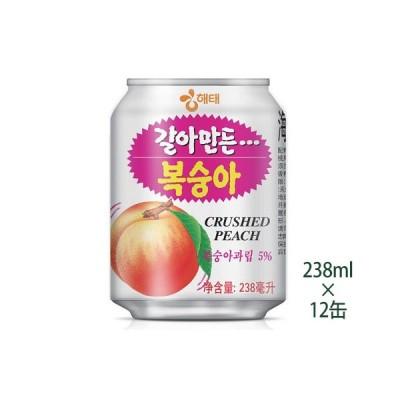 すりおろし桃ジュース 238ml (12缶)