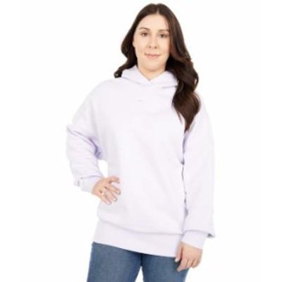 リーボック レディース パーカー・スウェット アウター Studio Fitness Sweatshirt Luminous Lilac