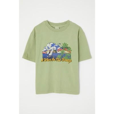 VINTAGE LIKE BREEZE Tシャツ L/GRN1