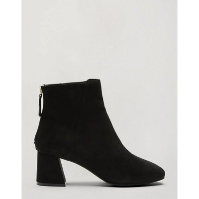 ミスセルフフリッジ レディース ブーツ・レインブーツ シューズ Miss Selfridge ankle boots in black