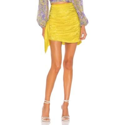 フォーラブアンドレモン For Love & Lemons レディース ミニスカート スカート Fiji Mini Skirt Pineapple
