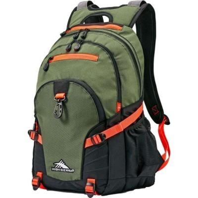 ハイシエラ High Sierra ユニセックス バックパック・リュック デイパック バッグ Loop Daypack Backpack Forest Green/Elctrc Orng