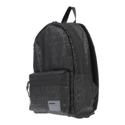 ディーゼル DIESEL バックパック&ヒップバッグ ブラック ポリエステル 100% / 亜鉛 / 鉄 バックパック&ヒップバッグ