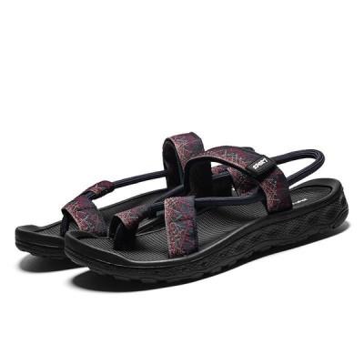 サンダルメンズ靴シューズファッション街歩きビーチリラックス痛くない軽量メンズスリッパビーチサンダルカップルシューズお揃い