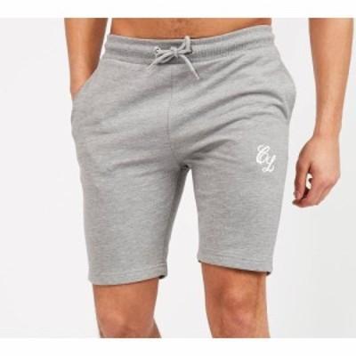 クロージャ ロンドン Closure London メンズ ショートパンツ ボトムス・パンツ pack of 2 logo short Grey Marl/Black