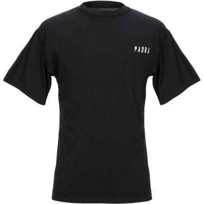 PAURA T シャツ ブラック XS コットン 100% T シャツ