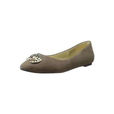フラッツ オックスフォード ぺたんこ シューズ 靴  B&C Home Goods 6184 レディース Tempo フラット Tan Ballet フラットs シューズ 9 ミディアム (B,M)