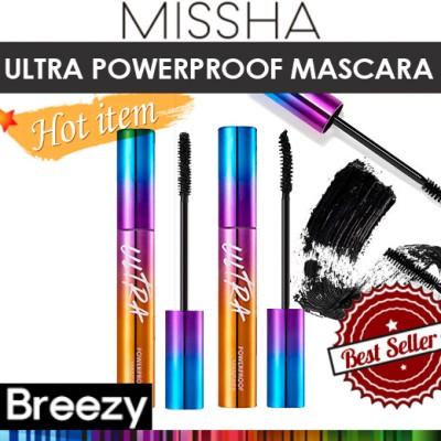 [BREEZY] ★ [MISSHA] ultra powerproof mascara 8g