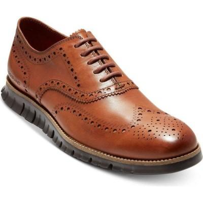 コールハーン Cole Haan メンズ 革靴・ビジネスシューズ ウイングチップ シューズ・靴 ZeroGrand Wingtip Oxfords British Tan/Java
