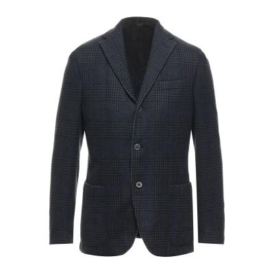 ザ ジジ THE GIGI テーラードジャケット ダークブルー 46 バージンウール 100% テーラードジャケット