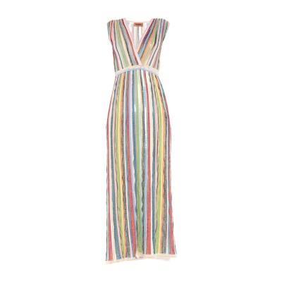 ミッソーニ MISSONI ロングワンピース&ドレス ピンク 40 シルク 97% / ポリウレタン 3% ロングワンピース&ドレス