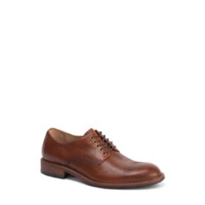 トラスク スリッポン・ローファー シューズ メンズ Landry Plain Toe Derby Saddle Tan Leather