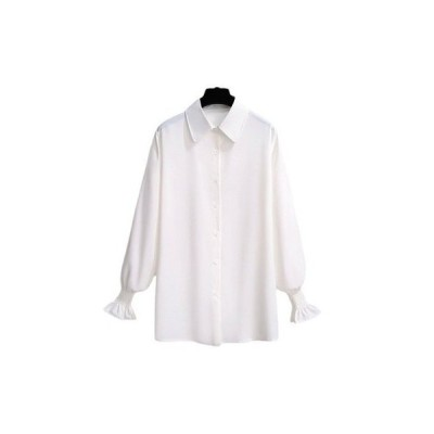 シャツブラウス レディース トップス 長袖 ブラウス OL気質 シャツ おしゃれ 人気 春秋
