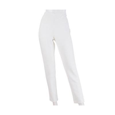 ピタッツ パンツ 白 通年素材 旅行パンツ 裾スリム 64cm丈 254-903
