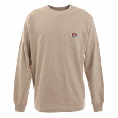 ベンデイビス(BEN DAVIS)ピスポケット ロングスリーブTシャツ 0780036-NTL(Men's)