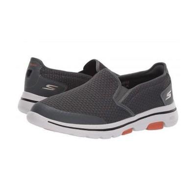 SKECHERS Performance スケッチャーズ メンズ 男性用 シューズ 靴 スニーカー 運動靴 Go Walk 5 - Apprize - Charcoal
