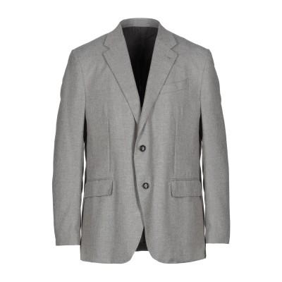 エルメネジルド ゼニア ERMENEGILDO ZEGNA テーラードジャケット グレー 54 ウール 50% / コットン 45% / シルク 5