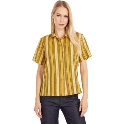 ネイキッド アンド フェイマス Naked & Famous レディース ブラウス・シャツ トップス Camp Collar Shirt Yellow
