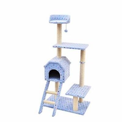 猫クライミングフレーム 大サイザル猫登山フレーム猫登山ツリー猫おもちゃ (中古品)