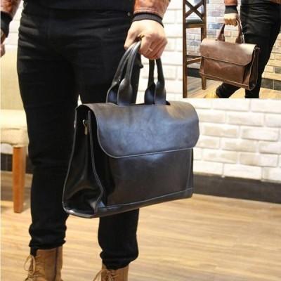ビジネス 肩掛け トート ハンド バッグ A4 サイズ ブリーフ ケースショルダー バック 書類 手提げ 通勤 鞄