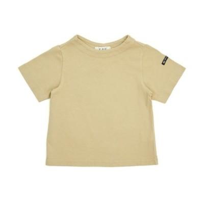 【SALE セール】 FOU エフオーユー 半袖 Tシャツ 2020 夏物 (100cm/110cm/120cm/130cm/140cm) ボトルネックTシャツ メール便可