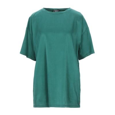 ジジル JIJIL T シャツ グリーン 42 コットン 58% / シルク 35% / ポリウレタン 7% T シャツ