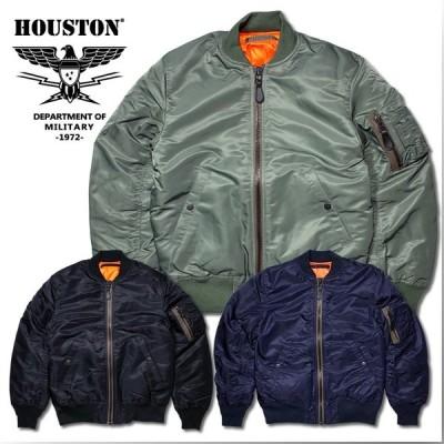 HOUSTON ヒューストン 50316 MA-1 FLIGHT JACKET / MA-1 フライトジャケット -全3色