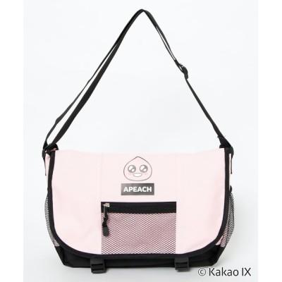 WEGO / ∴WEGO/【KAKAO FRIENDS】スクールメッセンジャー WOMEN バッグ > ショルダーバッグ