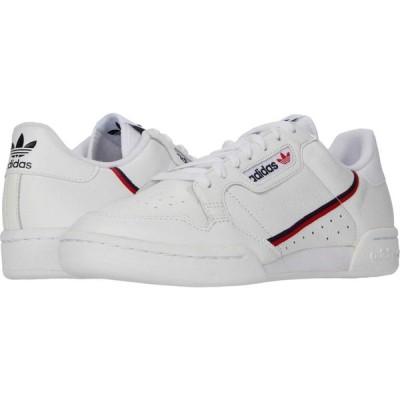 アディダス adidas Originals メンズ スニーカー シューズ・靴 Continental 80 Footwear White/Scarlet/Collegiate Navy