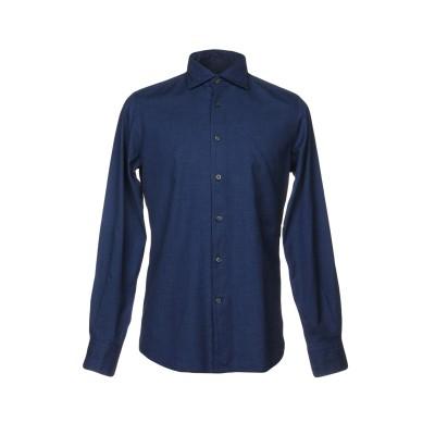 HAMPTONS シャツ ブルー 38 コットン 100% シャツ