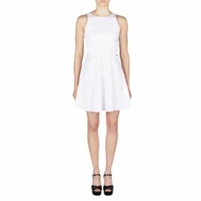 アルマーニ Armani Exchange レディース ワンピース ワンピース・ドレス 5 Tasche White