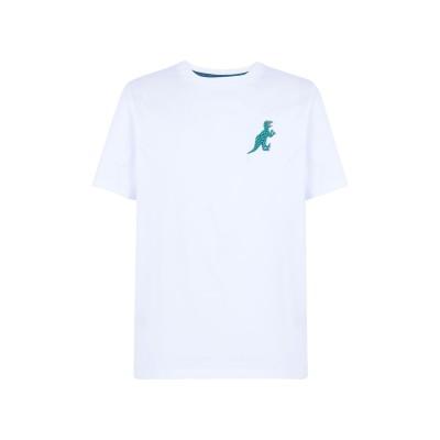 ポール・スミス PAUL SMITH T シャツ ホワイト S オーガニックコットン 100% T シャツ