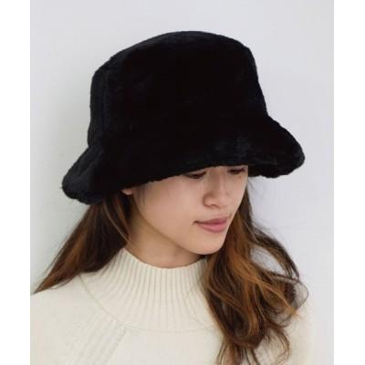 ViS / ボリュームフェイクファーバケットハット WOMEN 帽子 > ハット