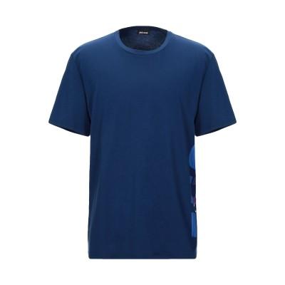 ジャストカヴァリ JUST CAVALLI T シャツ ブルー XXL コットン 100% T シャツ
