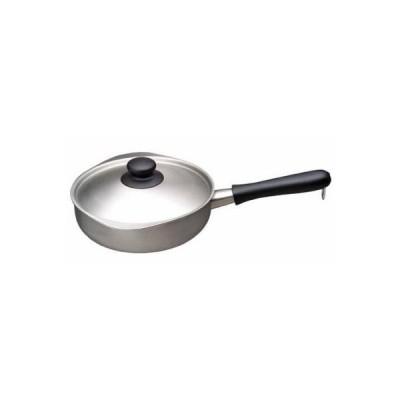柳宗理 鍋 ステンレス アルミ3層鋼 片手鍋 22cm つや消し IH鍋