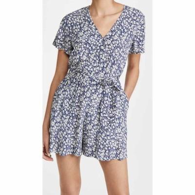 レイルズ RAILS レディース オールインワン ワンピース・ドレス Sophia Romper Navy Camellia
