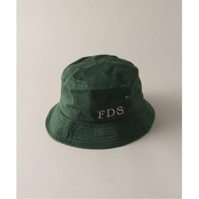 フォーワンセブン エディフィス 【ユニセックス】【 FAMOUS DEPARTMENT STORE】 HAT グリーン M
