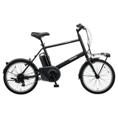 PANASONIC BE-ELVS072-B ミッドナイトブラック ベロスター・ミニ [電動アシスト自転車(20インチ・外装7段変速)]