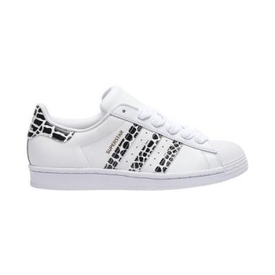 (取寄)アディダス オリジナルス レディース シューズ スーパースター Adidas originals Women's Shoes Superstar White Gold Metallic Black
