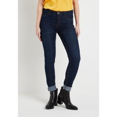 カフェ レディース デニムパンツ ボトムス BETTY PERFECT - Slim fit jeans - denim dark ocean denim dark ocean