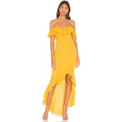 ラヴァーズフレンズ Lovers + Friends レディース パーティードレス ワンピース・ドレス Chrysalis Gown Yellow