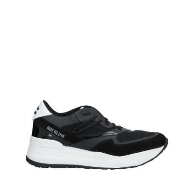 ルコライン RUCO LINE スニーカー&テニスシューズ(ローカット) ブラック 45 革 / 紡績繊維 スニーカー&テニスシューズ(ローカット)