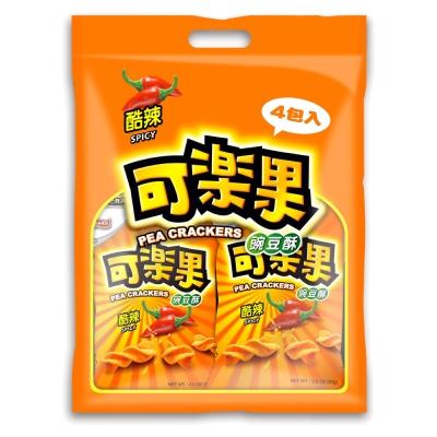 可樂果 豌豆酥-酷辣量販(57gx4包/袋)
