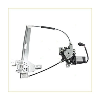 Brock Replacement Passenger Rear Power Window Regulator with Lift Motor Assembly Compatible with 2000-2005 Impala 10338856 並行輸入品