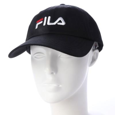 フィラ FILA ユニセックス キャップ FILA LINEAR LOGO LOW CAP 185713520
