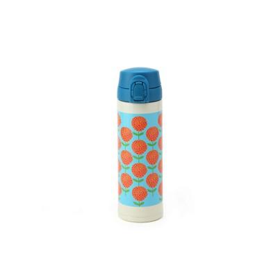 <Scandinavian Pattern Collection>ワンプッシュマグボトル/ダリア