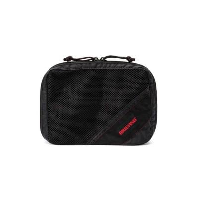 【カバンのセレクション】 ブリーフィング バッグ ポーチ 3.2L トラベルポーチ メンズ 小さめ BRIEFING bra201a30 ユニセックス ブラック フリー Bag&Luggage SELECTION