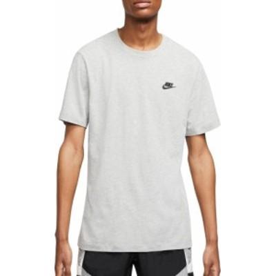 ナイキ メンズ Nike Men's Sportswear Club T-Shirt Tシャツ 半袖 DARK GREY HEATHER
