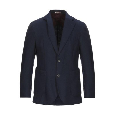 MAXI HO テーラードジャケット  メンズファッション  ジャケット  テーラード、ブレザー ダークブルー